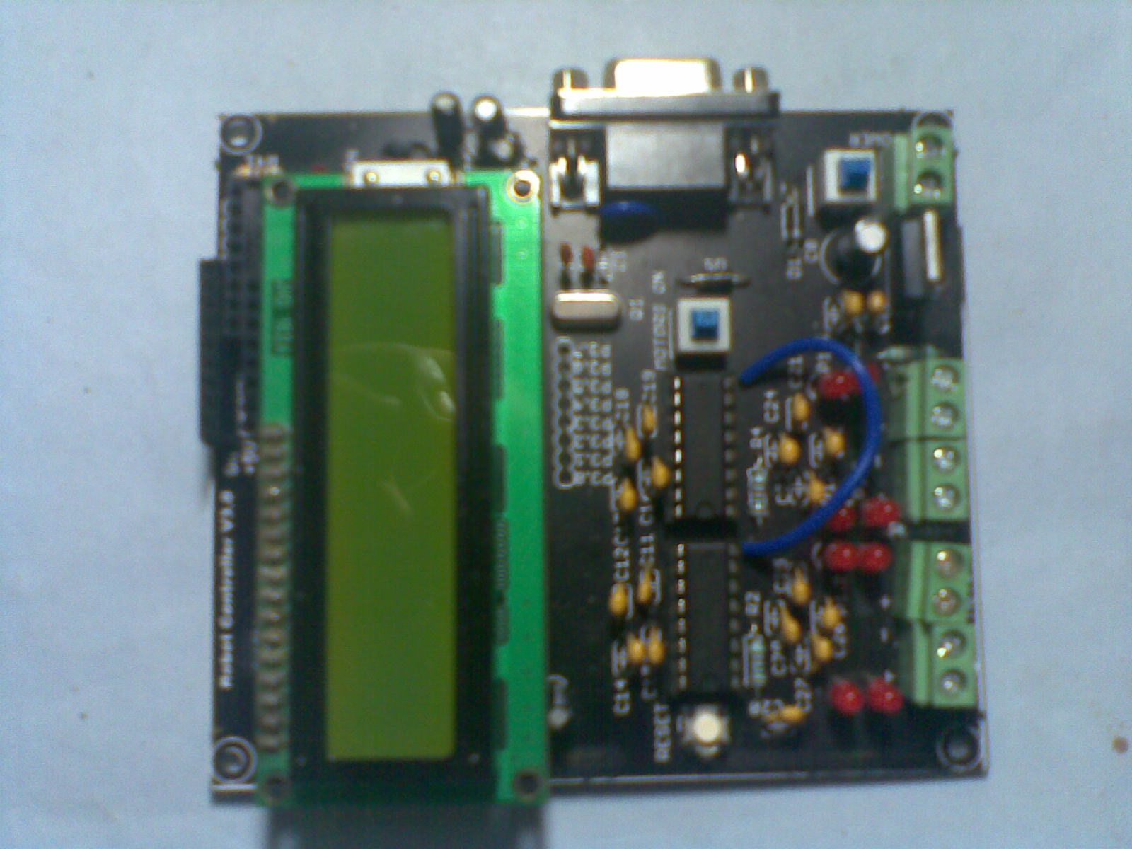 Old Robot Controller Board Reloaded With Arduino Achus Techblog Circuit