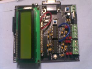 Arduino powered board, with LCD