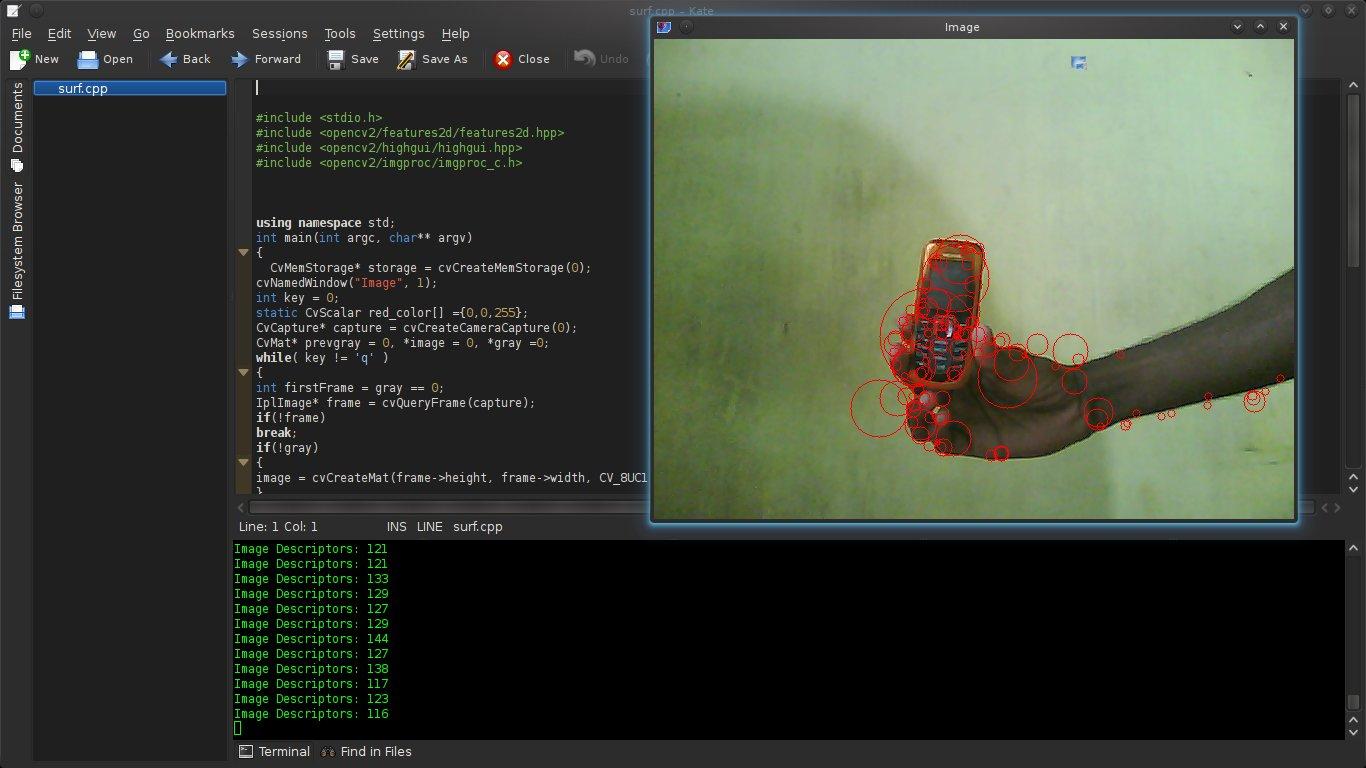 SURF in OpenCV – Achu's TechBlog