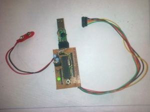 Arduino clone using Atmega8