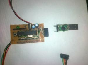 Arduino clone using Atmega 8