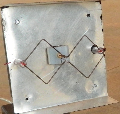 Bi-Quad Antenna for use along with NRF24L01+